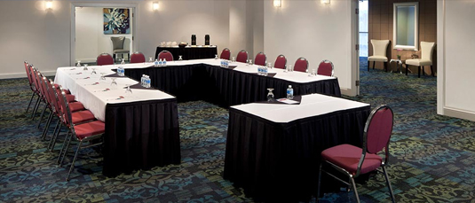 Hyack North Conference and meeting room at Inn At The Quay in New Westminster, BC.