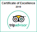 Trip Adovisor Certificate of Excellence 2019